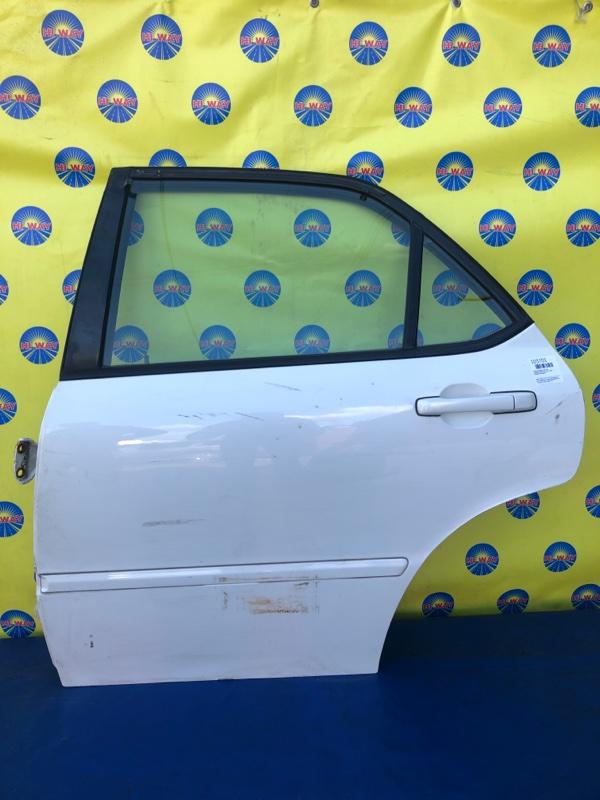 Дверь боковая Honda Accord CF4 1997 задняя левая