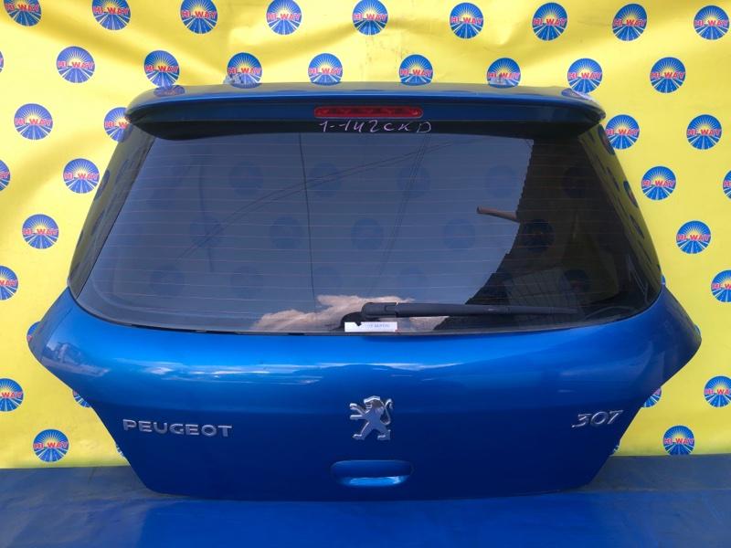 Дверь задняя Peugeot 307 3A/C RFJ 2002