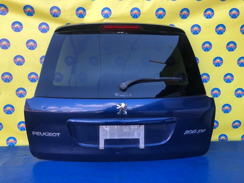 Дверь задняя Peugeot 206 2E/K TU5JP4 2004