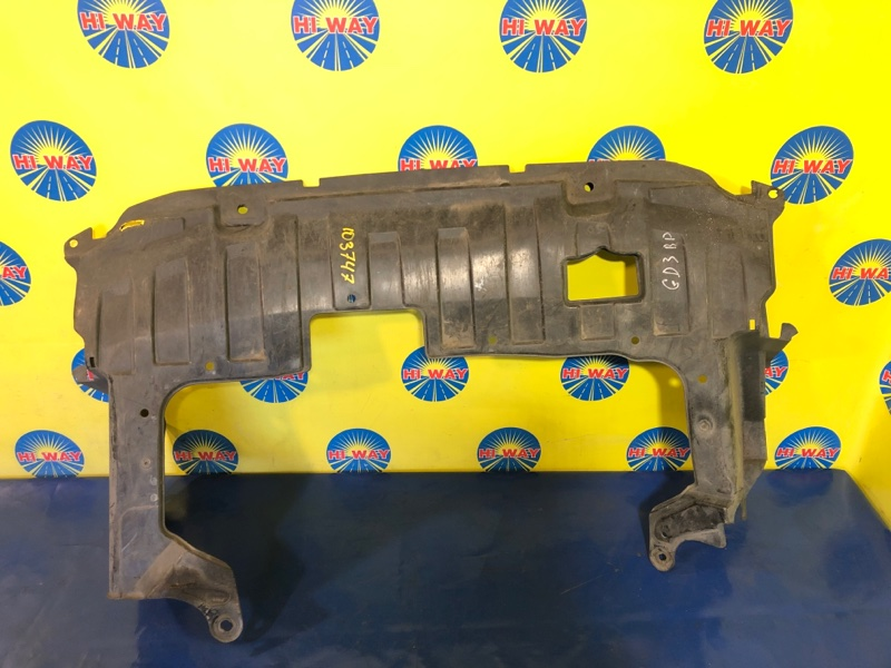 Защита двс Honda Fit GD1 L15A передняя