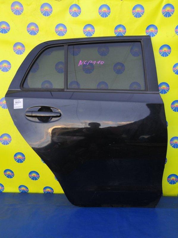 Дверь боковая Toyota Ist NCP110 07.2007 задняя правая