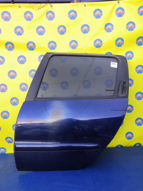Дверь боковая Peugeot 206 2E/K TU5JP4 2004 задняя левая