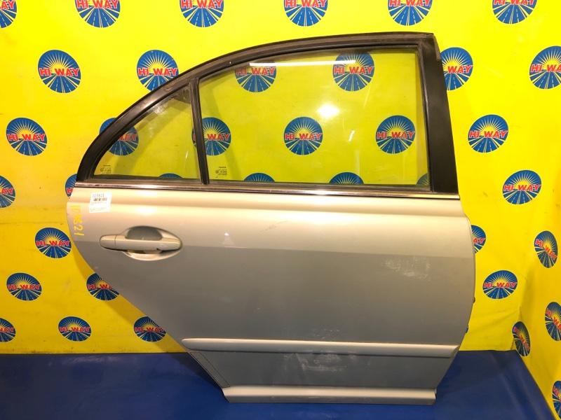 Дверь боковая Toyota Avensis AZT250 2002 задняя правая