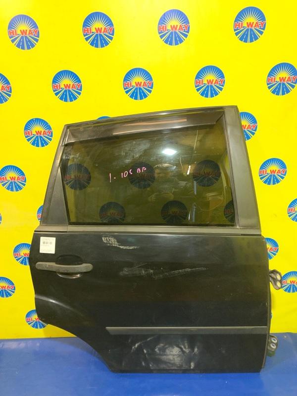 Дверь боковая Ford Fiesta CBK FYJA 2001 задняя правая