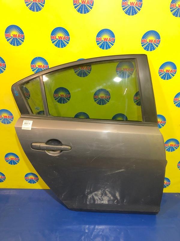 Дверь боковая Mazda Axela BK5P ZY-VE 2003 задняя правая