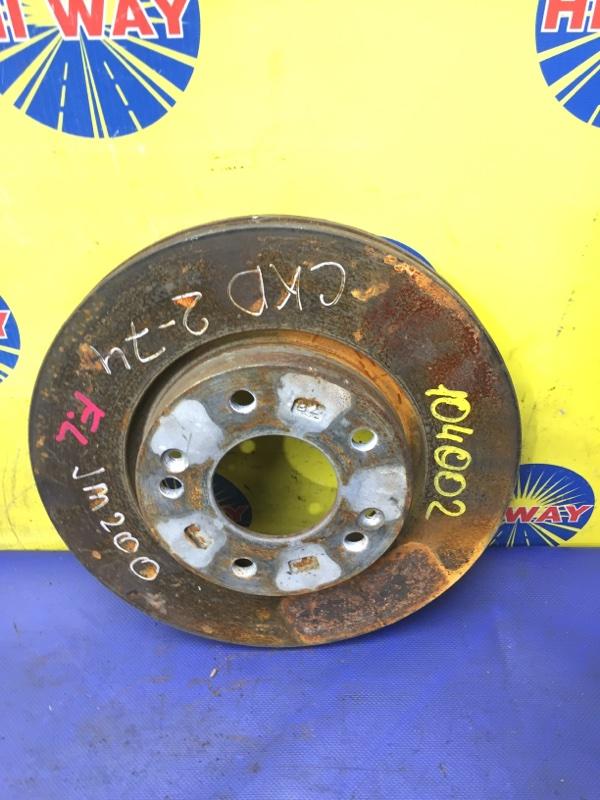 Диск тормозной Hyundai Tucson JM G4GC 2004 передний
