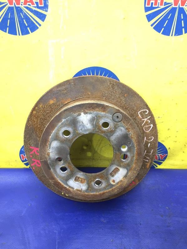 Диск тормозной Hyundai Tucson JM G4GC 2004 задний