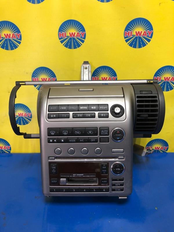 Блок управления климат-контролем Nissan Skyline CPV35 VQ35DE 2003