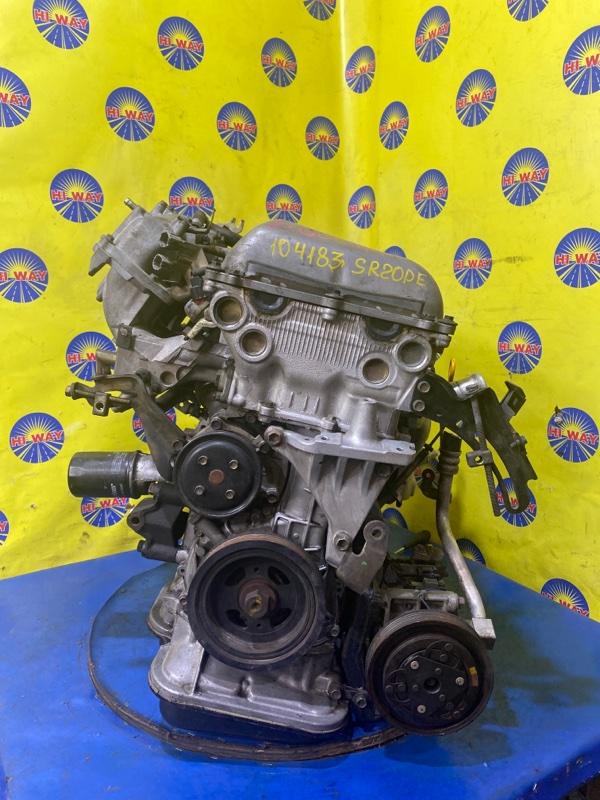 Двигатель Nissan Primera HP11 SR20DE 1995