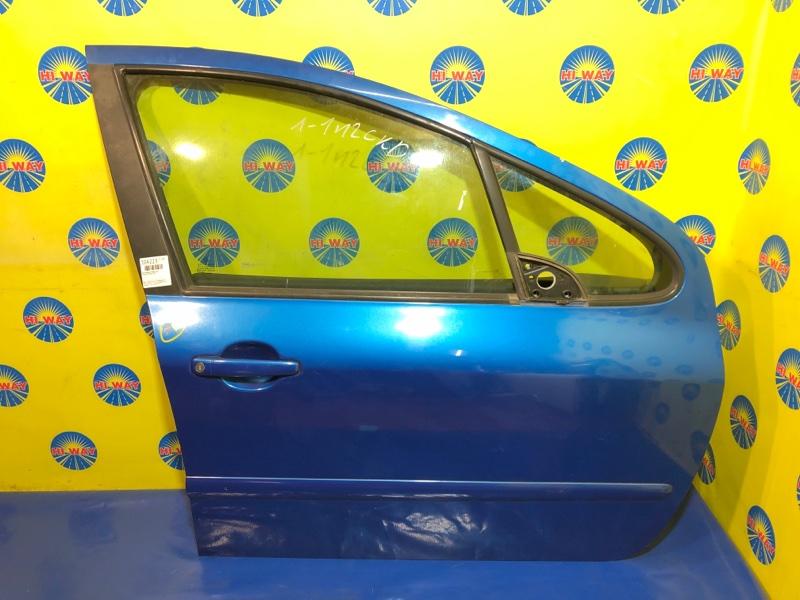 Дверь боковая Peugeot 307 3A/C RFJ 2002 передняя правая
