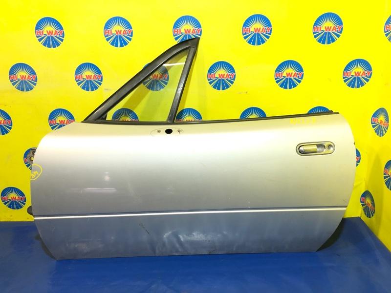 Дверь боковая Mazda Roadster NA8C BP-ZE 02.1989 передняя левая