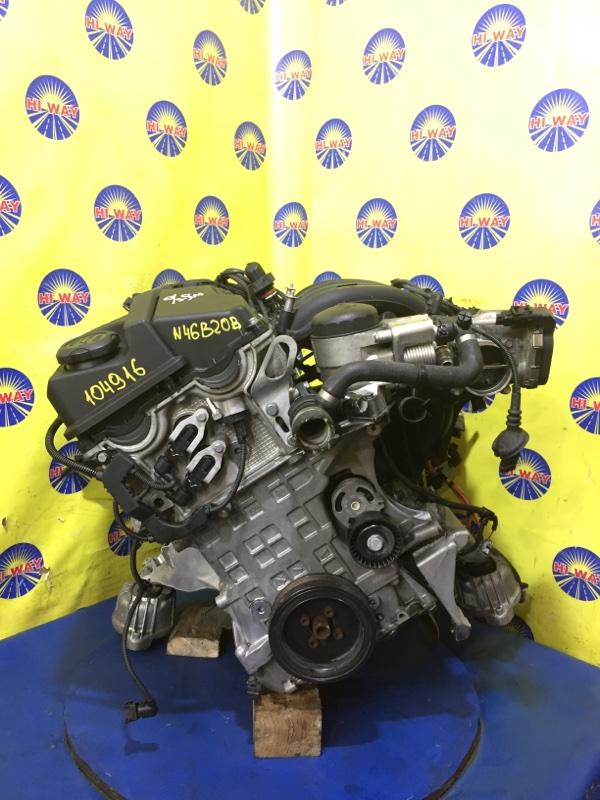Двигатель Bmw 320I E90 N46B20B 2004