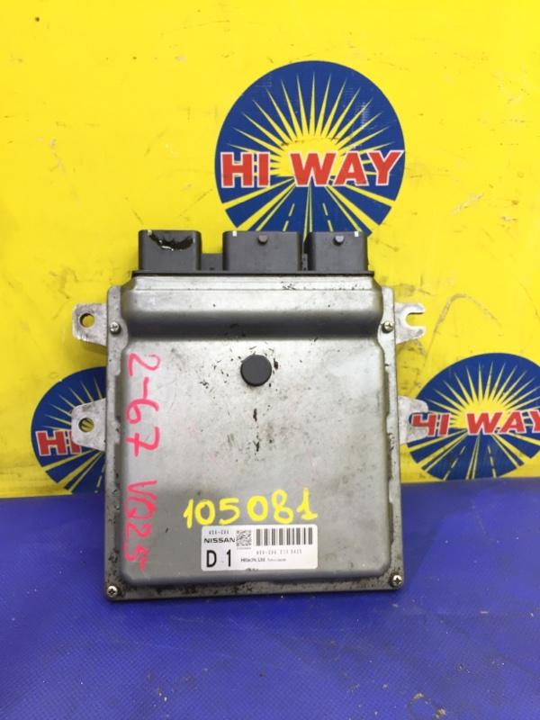 Блок управления двс Nissan Teana J32 VQ25DE 2008