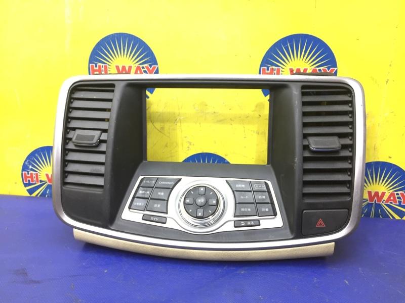 Рамка магнитолы Nissan Teana J32 VQ25DE 2008