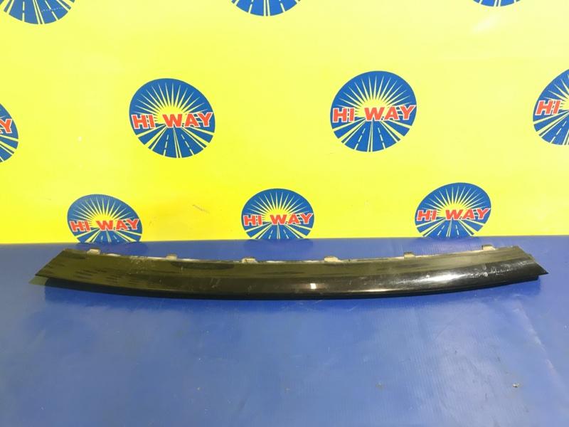 Накладка на бампер Bmw 116I F20 N13B16A 2012 передняя