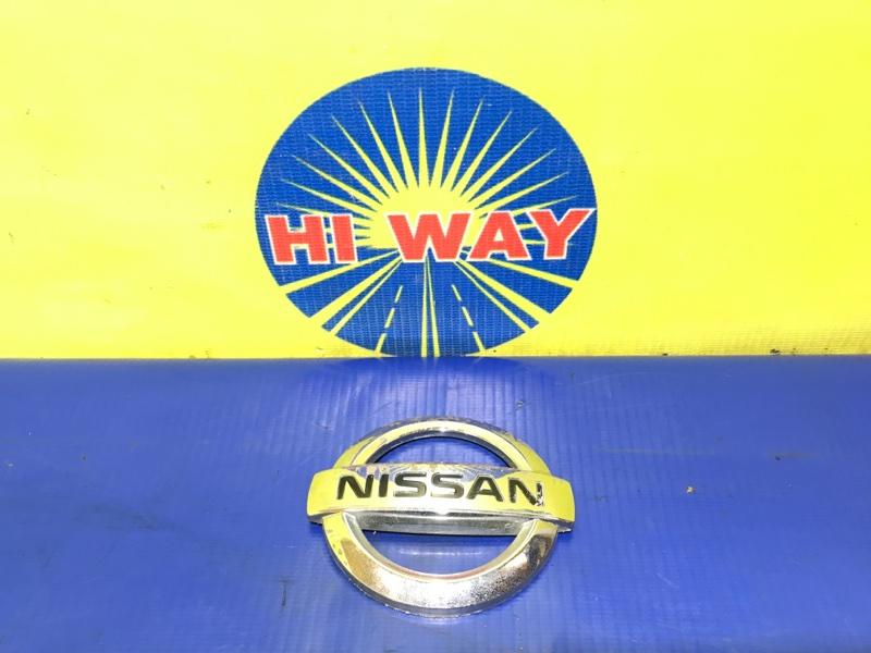 Эмблема Nissan Sunny FB15 QG15DE 2002