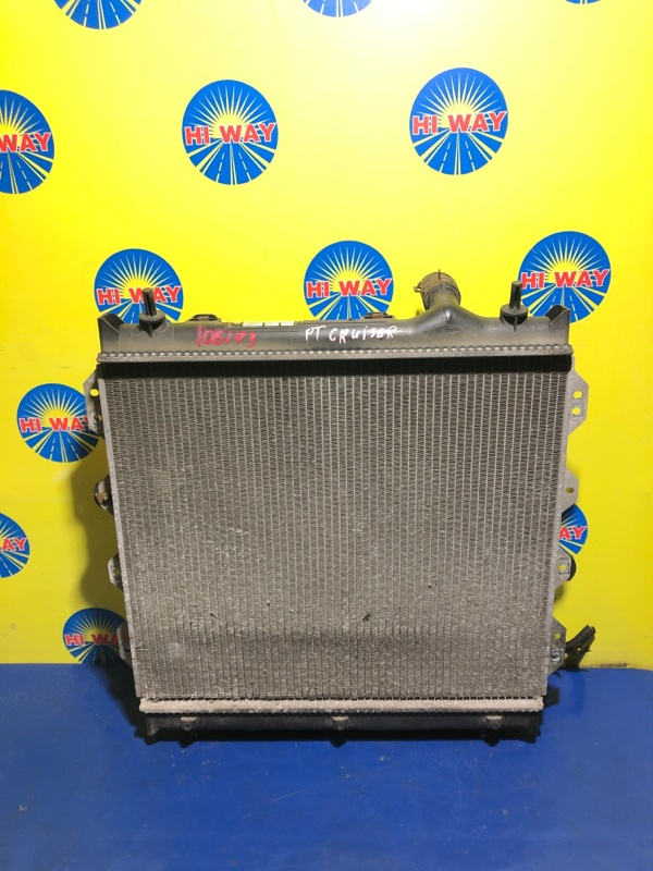 Радиатор двс Chrysler Pt Cruiser PT ECC