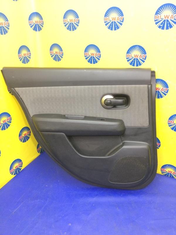 Обшивка двери Nissan Tiida Latio SC11 2004 задняя левая
