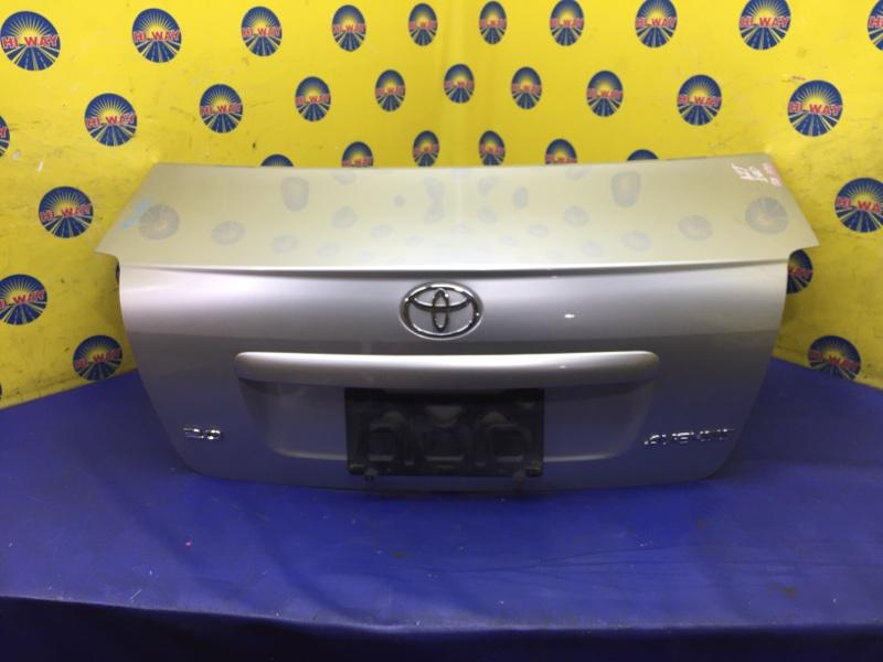 Крышка багажника Toyota Avensis AZT250 2002 задняя