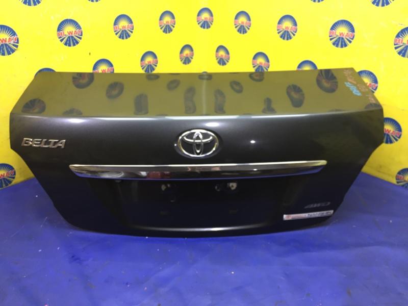Крышка багажника Toyota Belta SCP92 2005 задняя