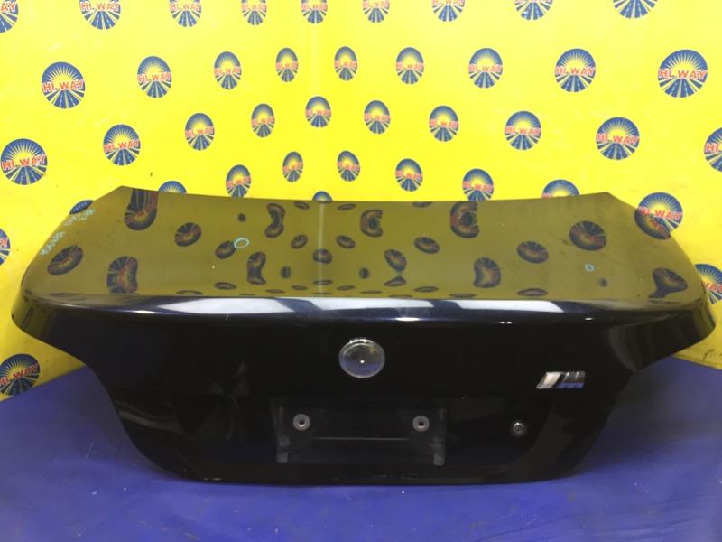 Крышка багажника Bmw 525I E60 M54B25 2003 задняя