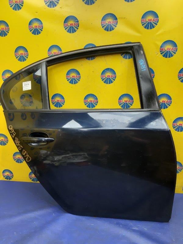 Дверь боковая Bmw 525I E60 M54B25 2003 задняя правая