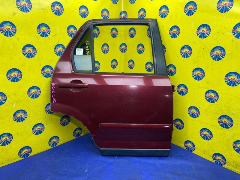 Дверь боковая Honda Cr-V RD5 K20A 2001 задняя правая