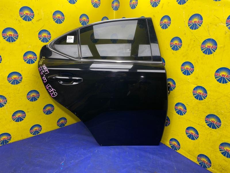 Дверь боковая Lexus Is250 GSE25 2008 задняя правая