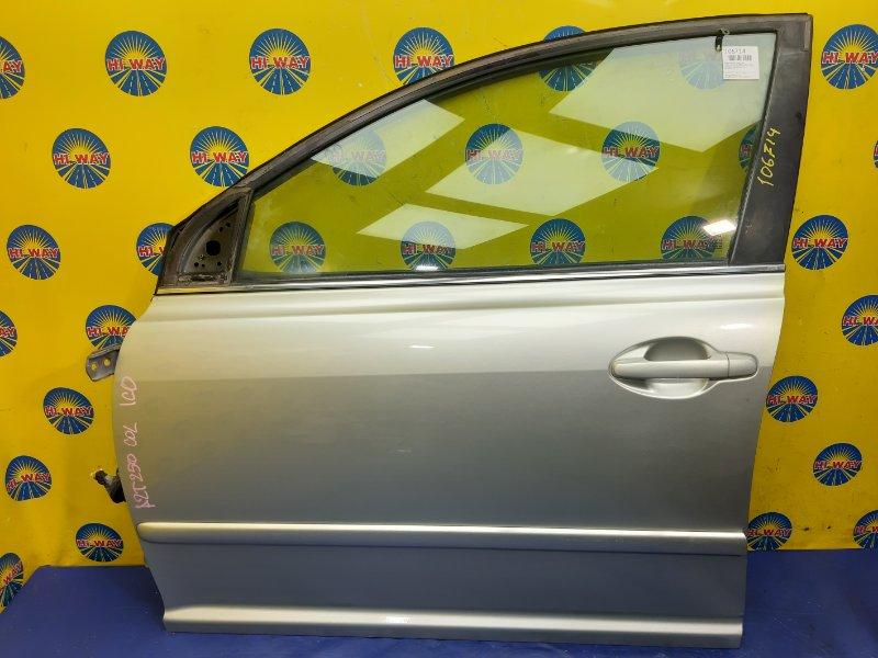 Дверь боковая Toyota Avensis AZT250 2002 передняя левая