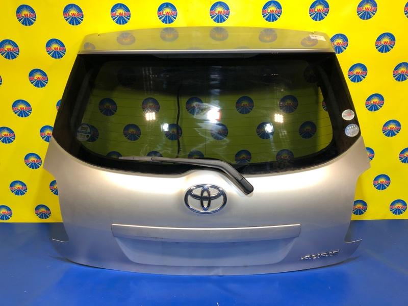 Дверь задняя Toyota Auris NZE151 1NZ-FE 2006 задняя