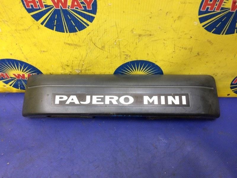 Накладка багажника Mmc Pajero Mini H58A 1998 задняя