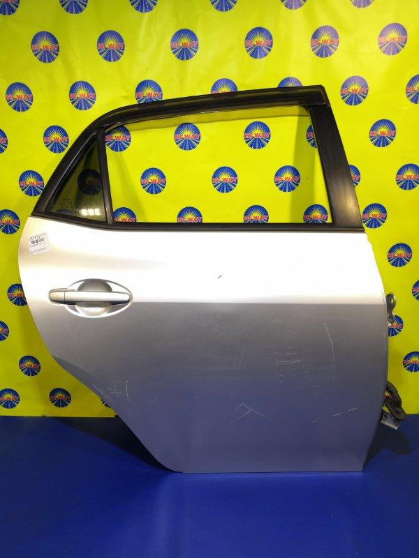 Дверь боковая Toyota Auris NZE151 1NZ-FE 2006 задняя правая