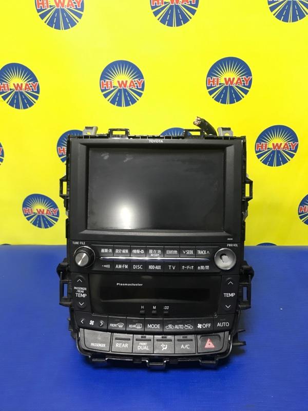 Блок управления климат-контролем Toyota Alphard GGH20 2GR-FE 2008