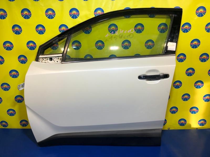 Дверь боковая Toyota C-Hr ZYX10 2ZR-FXE 2016 передняя левая