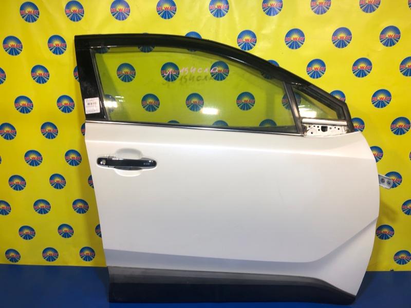 Дверь боковая Toyota C-Hr ZYX10 2ZR-FXE 2016 передняя правая