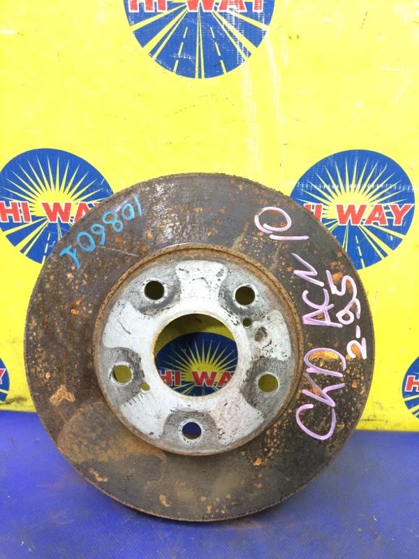 Диск тормозной Toyota Nadia ACN10 1AZ-FSE 1998 передний