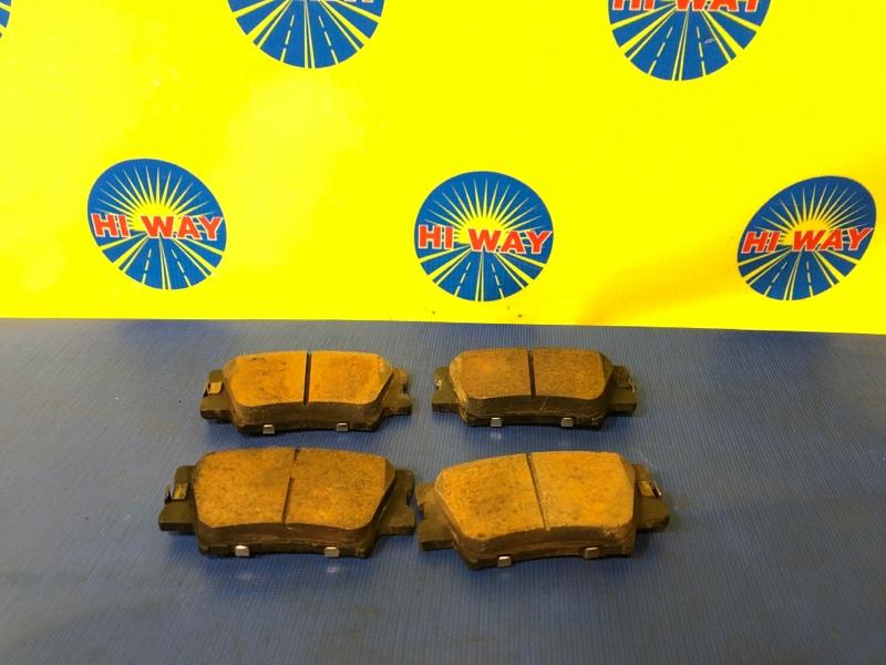 Колодки тормозные Toyota Camry AVV50 2AR-FXE 04.2012 задние