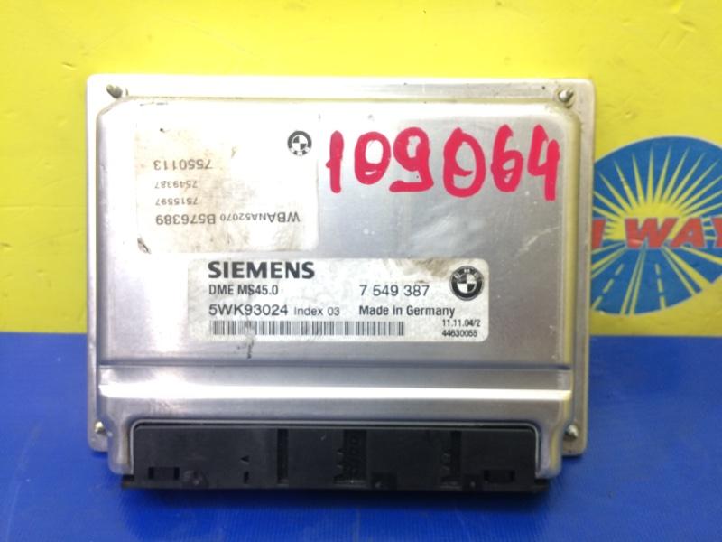 Блок управления двс,компьютер Bmw 525I E60 M54B25 2003