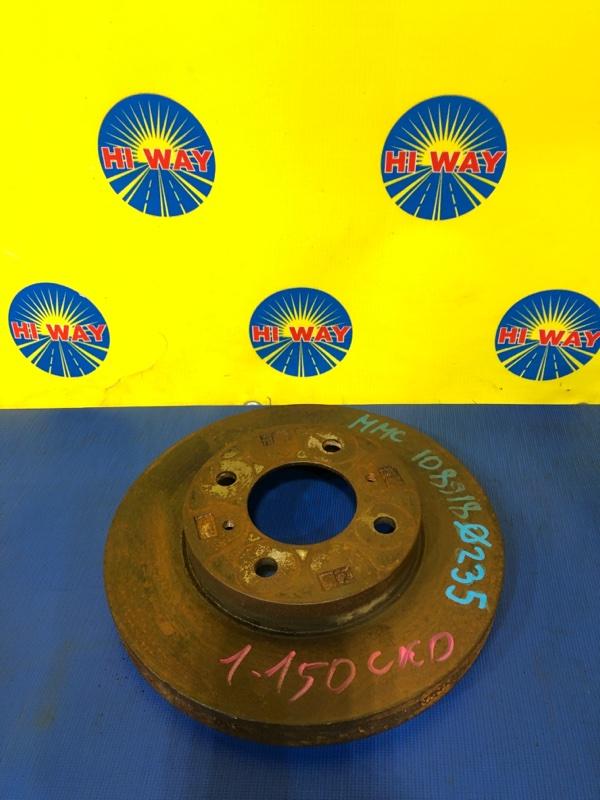 Диск тормозной Mmc Lancer Cedia CS2V 4G15 2007 передний