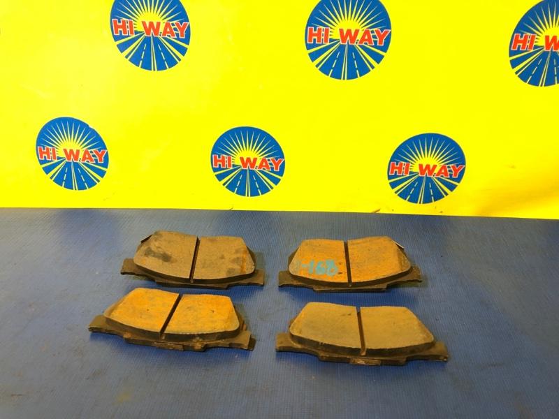 Колодки тормозные Honda Logo GA3 D13B 1999 передние