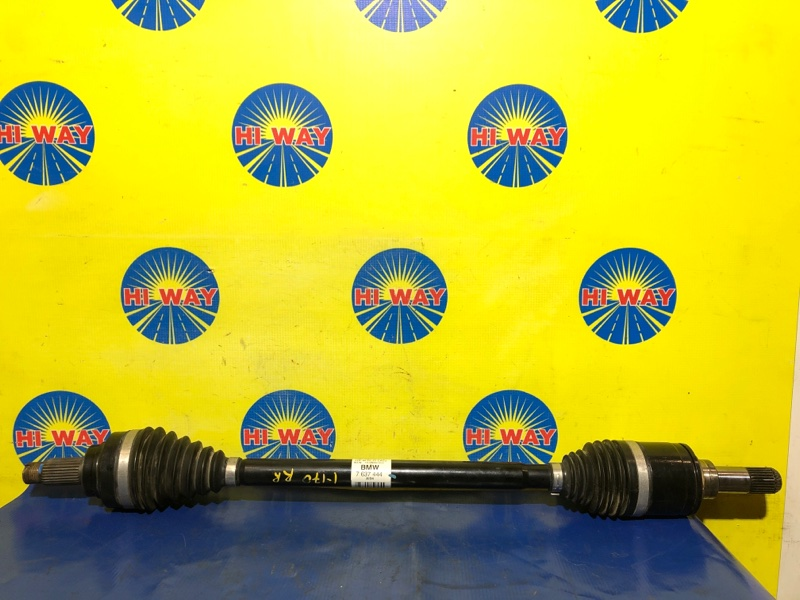 Привод Bmw 328I F34 N20B20A 2015 задний правый