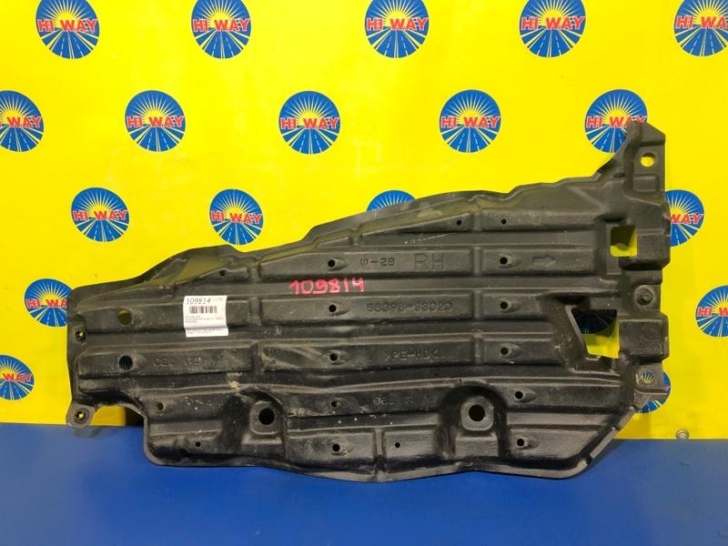 Защита двс Toyota Camry AVV50 2AR-FXE 04.2012 задняя правая
