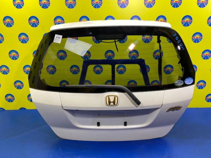 Дверь задняя Honda Fit GD1 L13A 2001 задняя