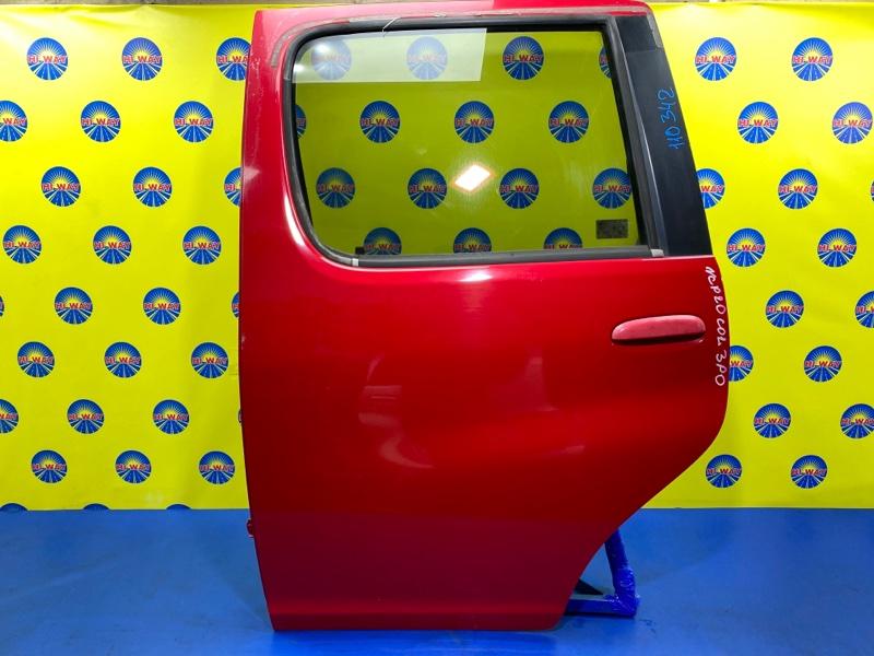 Дверь боковая Toyota Funcargo NCP20 1999 задняя левая