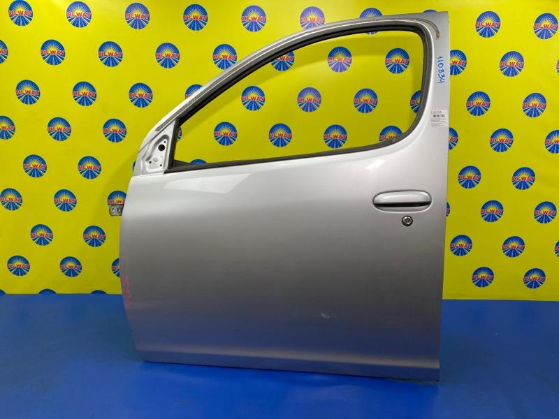 Дверь боковая Toyota Funcargo NCP20 1999 передняя левая