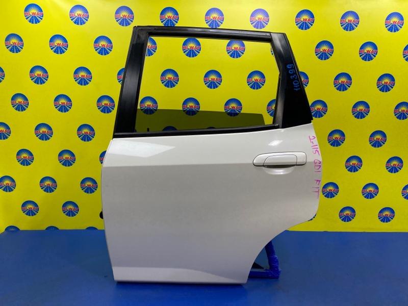 Дверь боковая Honda Fit GD1 L13A 2001 задняя левая