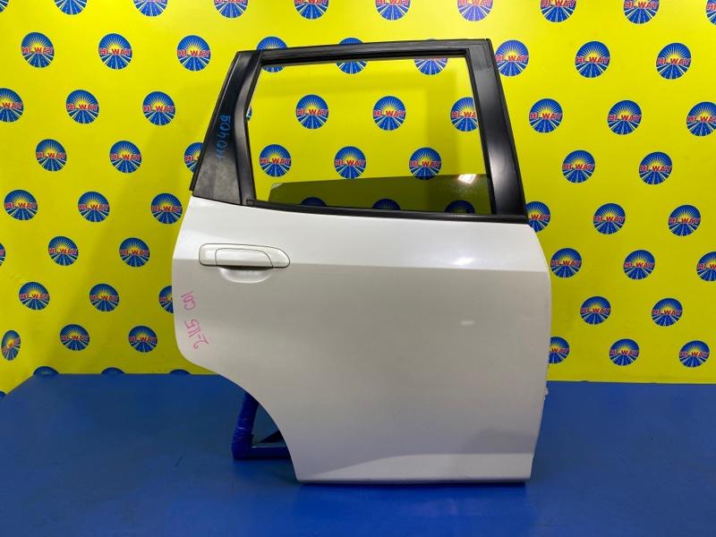 Дверь боковая Honda Fit GD1 L13A 2001 задняя правая