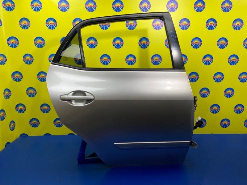 Дверь боковая Toyota Blade GRE156H 2006 задняя правая