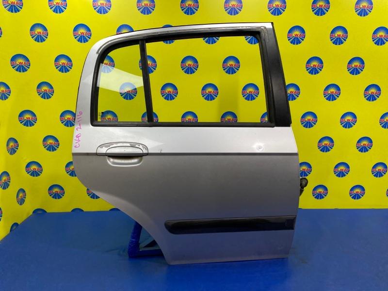Дверь боковая Hyundai Getz TB G4EA 2002 задняя правая