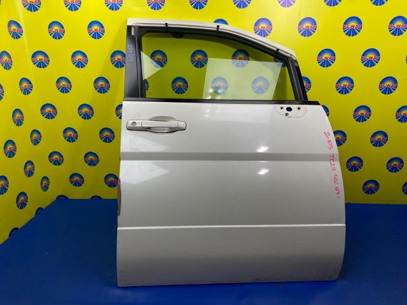 Дверь боковая Nissan Serena TC24 QR20DE 1999 передняя правая